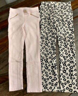 Lot of two pairs of skinny pants, girls, H&M and Gymboree, size 8