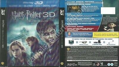 Harry Potter and the Deathly Hallows, Part 1 (SLIPCOVER ONLY for 3D Blu-ray)