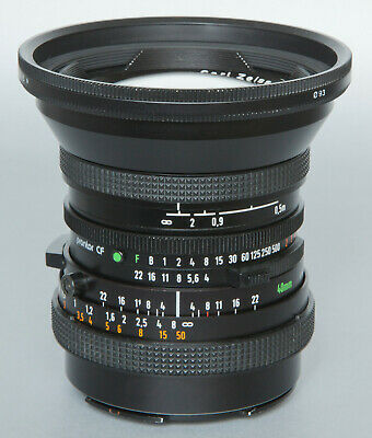 Carl Zeiss Distagon CF 40mm/4 T lens for Hasselblad V +caps