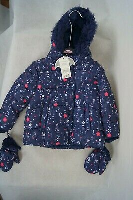 Girls Shower Resistant Coat Age 1 - 1 1/2 years BNWT