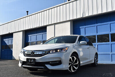 2016 Honda Accord EX-L V-6 Heated Leather Seats Full Power Cruise Moonroof Remote Start Gorgeous Car Save