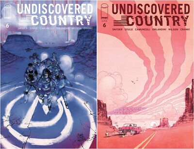 UNDISCOVERED COUNTRY #6 - NM - Image - Presale 06/10