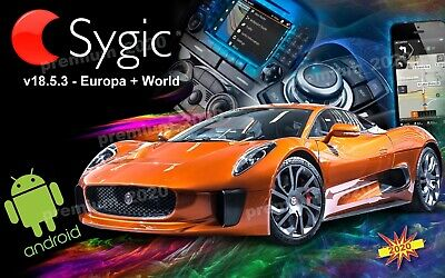 SYGIC v18.5.3 - Europa 2020 + World + Traffic - GPS Navigation - auf Micro SD