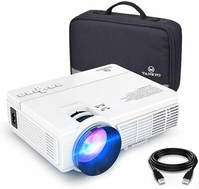 1080P 170'' Display Supported 3600L Portable Projector with 40K Hr LED Lamp Life