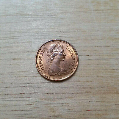 1971 Half New Penny - Condition is 'Brilliant Uncirculated' from Royal Mint Set