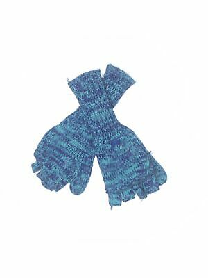 Unbranded Women Blue Mittens One Size