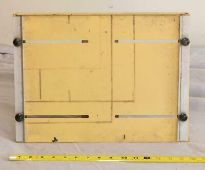 Adjustable 11x14 and Smaller Darkroom Printing Easel tthc