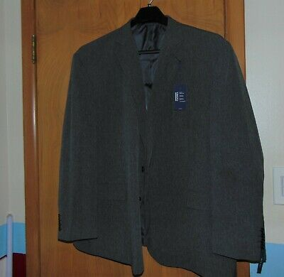 Men's Gray Big & Tall Suit coat by STAFFORD size 56R New with Tags
