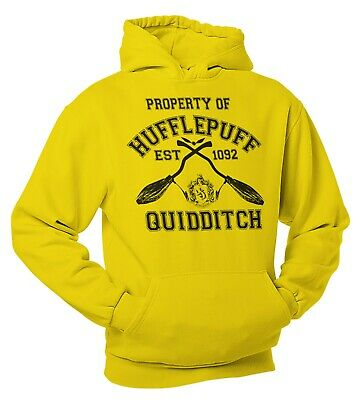 HufflePuff QuidditchTeam Wear Harry Potter Inspired Team Hoody Adults and Kids