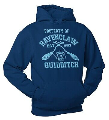 RavenClaw Quidditch Team Wear Harry Potter Inspired Team Hoody Adults and Kids