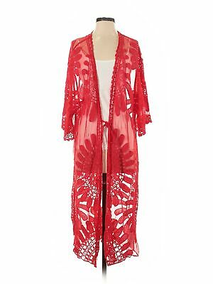 NWT Assorted Brands Women Red Kimono P
