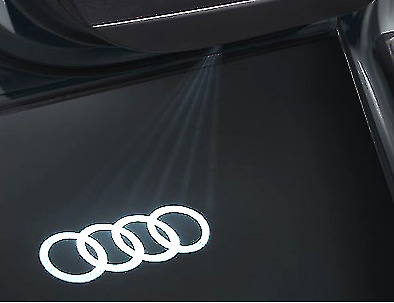 4G0052133G Audi rings puddle lights