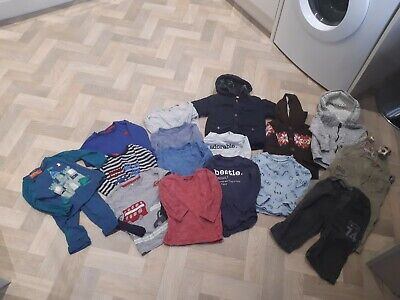 Bundle Of Boys Clothing Age 12 - 18 Months Next