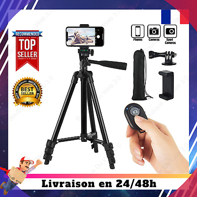Trepied Pro Appareil Photo Smartphone iphone GoPro Camera Télécommande Bluetooth