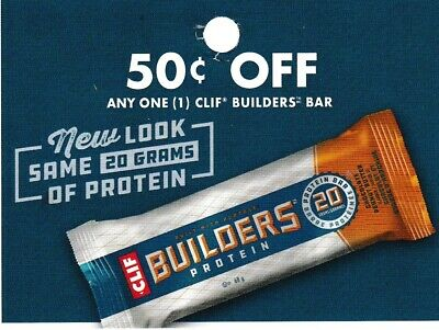 save on CLIF BUILDERS BARS + Bonus [Canada]