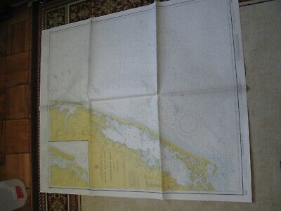 Vintage Navigational Chart - Fenwick Is.light To Chincoteague Inlet - Md - Va