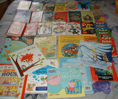 Job Lot Of 34 Childrens Books - Various ages