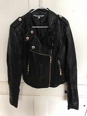 new look leather jacket 9 years