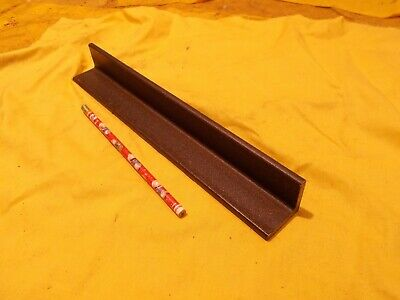 """A-36 STEEL ANGLE tool die machine shop stock fab 1/4"""" x 1 1 /2"""" x 12"""" OAL"""