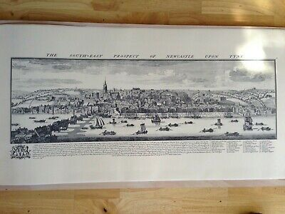 Historical 18th Century Engravings by S&N Buck. Panoramic views of 5 Cities Vol2