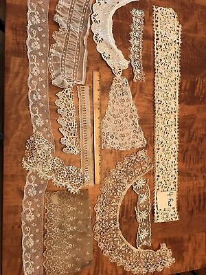 ANTIQUE VINTAGE LACE LOT Crafts Edging Sewing Trim