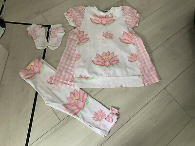Girls Designer A Dee Waterlily Outfit Age 5 Years Vgc