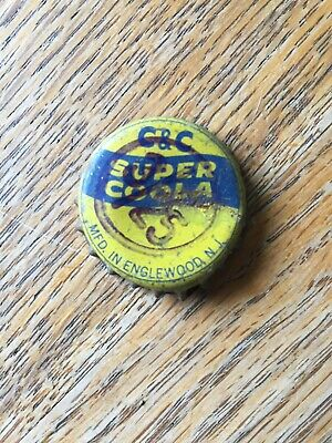 C&C Super Coola Soda Cork Bottle Cap Englewood New Jersey