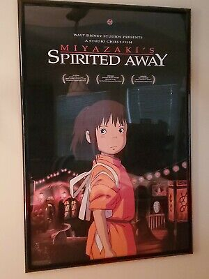 Spirited Away (Ghibli Miyazaki) Double Sided DS One Sheet Movie Poster 27x40