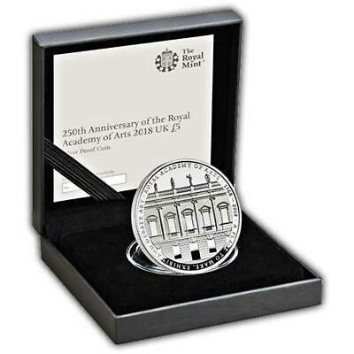 Royal Mint Royal Academy 2018 UK £5 Silver Proof Coin