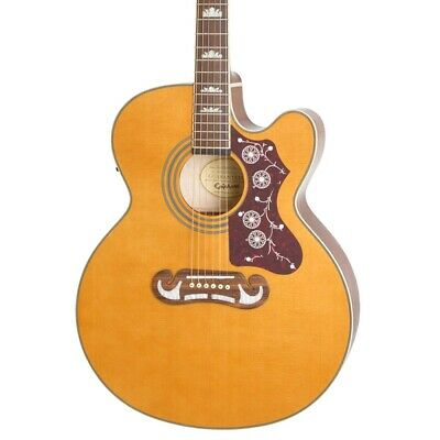 Epiphone EJ200CE Acoustic Electric Guitar in Vintage Natural
