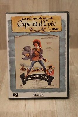 DVD - Le Masque de Fer - Un des plus grand films de cape et d'épée - Atlas