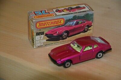 Matchbox Superfast Nr. 67 Datsun 260 - Z, magenta + Box, 70er Jahre, near mint