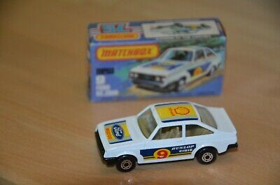 Matchbox Superfast Nr. 9 Ford RS 2000, weiß + Box, 70er Jahre, near mint