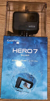 GoPro HERO7 Silver 4K30 Action Camera New Sealed