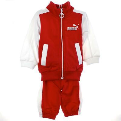 Puma Infant Track Suit 824885 03 Baby Jogger Kinder Trainingsanzug rot