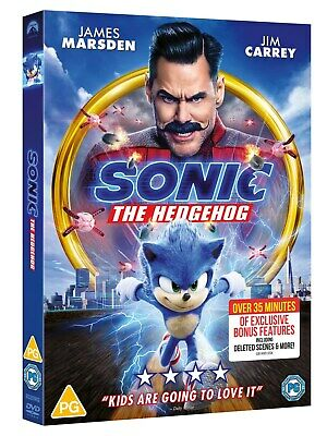 Sonic the Hedgehog [DVD] RELEASED 08/06/2020