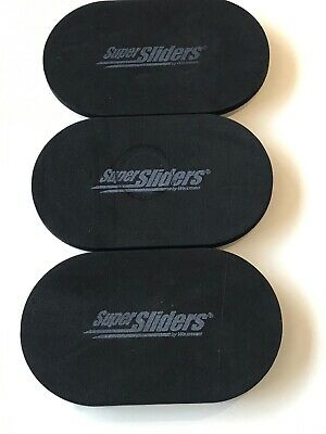 """3ct. Pre-Owned EZ-Sliders Reusable Protective Padded Furniture Movers  3.5"""" x 6"""""""