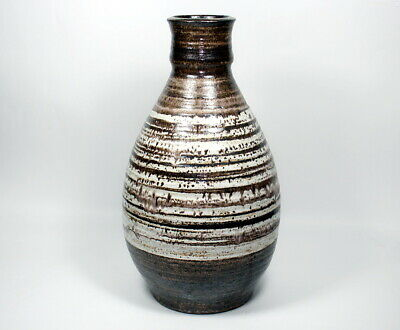 Large Vintage Thomas Tommy Kakinuma TK Canadian Pottery Studio Art Pottery Vase