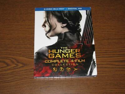 The Hunger Games: Complete 4 Film Collection (Blu-ray, 20166-Disc Set)