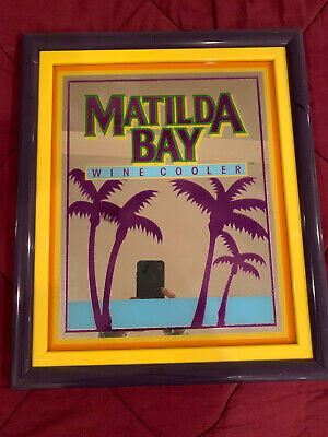 Matilda Bay Vintage Wine Cooler Mirror Sign