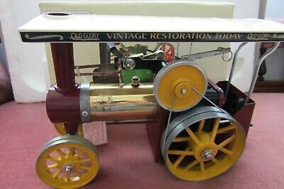 MAMOD Traction Engine 'OLD GLORY' Magazine special edition, boxed un-steamed