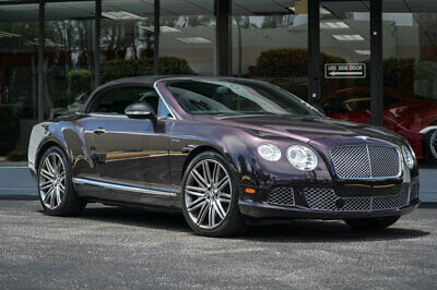 "2014 Bentley Continental GT Speed 2dr Convertible '14 Bentley Continental GT Convertible Speed,616HP,21"" Wheels,Vent& Massage Seat"