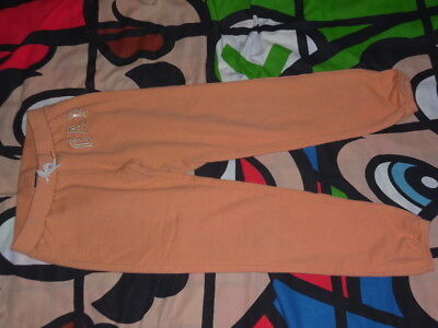 GAP Peach Pink Tracksuit Bottoms Age 10-11