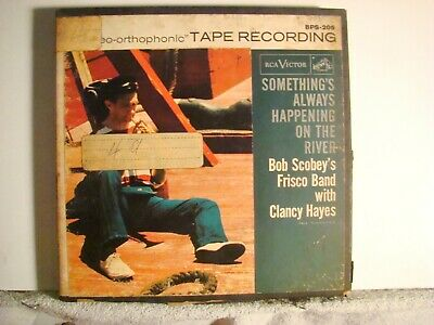 2 Track  7 1/2 - Bob Scobey -Something's Always Happening On The River -  Tested