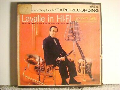 2 Track - 7 1/2 - Paul Lavelle In Hi-Fi  -   Tested