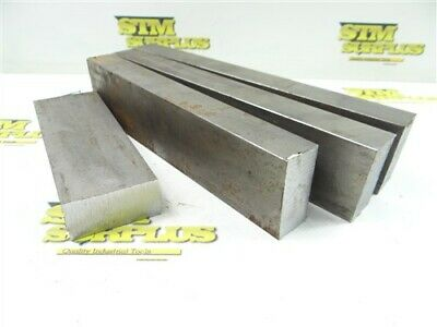 """19Lb Solid Steel Bar Stock 1"""" X 2"""" X 6"""" To 9-3/4"""" Lengths"""