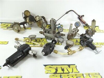 Large Lot Of Assorted Pneumatic Air & Torch / Welding Goodies