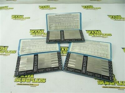 Lot Of 3 Fowler Surface Roughness Standards 52-720-000