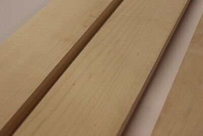 Maple neck blanks for Bass - 900mm x 110mm x 23mm - FREE UK postage