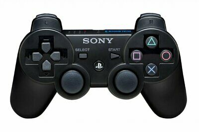 PlayStation 3 PS3 DualShock 3 Wireless Controller - 6ft Charging Cable Included